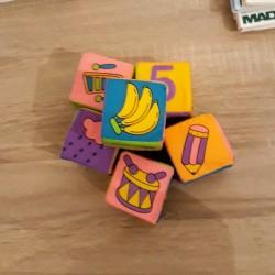 Educatieve zachte speelblokken